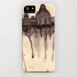 Grieving City iPhone Case