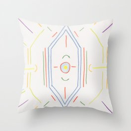 Alchemy 5 Throw Pillow