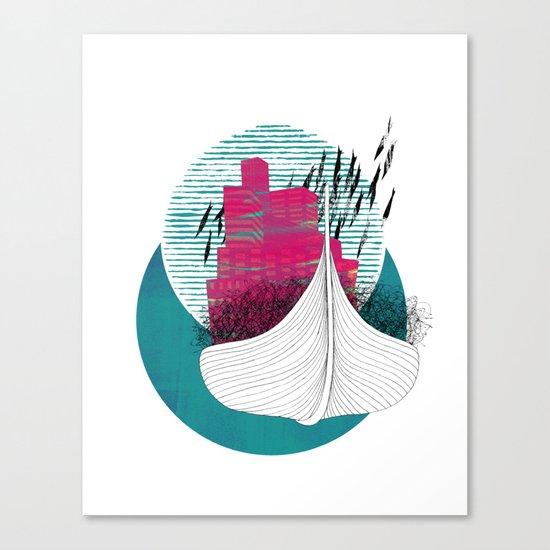 no hope. no fear. Canvas Print