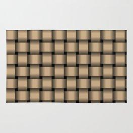Tan Brown Weave Rug