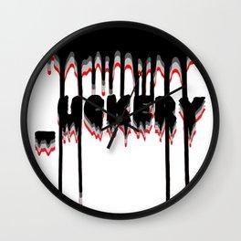 _uckery Wall Clock