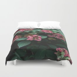 Hydrangeas in the Garden Duvet Cover