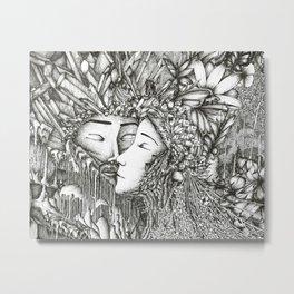 Aule and Yavanna Metal Print