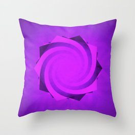 The Future of Pentagrams Throw Pillow
