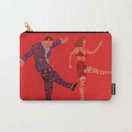 I'll never tell typography Carry-All Pouch