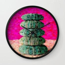 Ricci di Mare Wall Clock