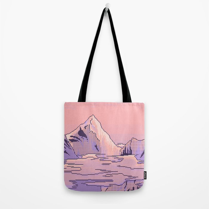 Peach Sunset Tote Bag