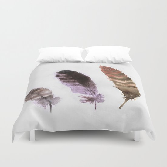 Feathers III Duvet Cover