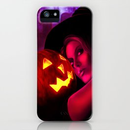 Halloween Witch 2011 iPhone Case