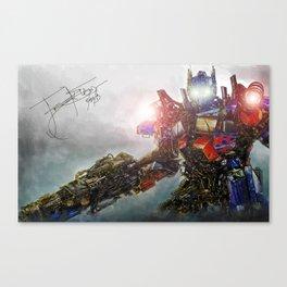 Behold, Optimus Prime Canvas Print