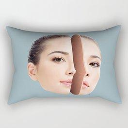 Double Personality Rectangular Pillow