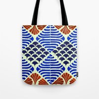 florence Tote Bags featuring Florence  by Indigo Images
