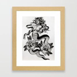 Naga - TATTOO Framed Art Print