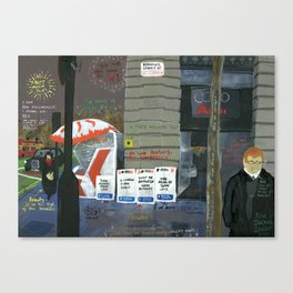 London #3. Berkeley Street W1 Canvas Print