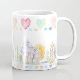 Little Houses: Staying Home Coffee Mug