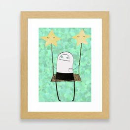 swing Framed Art Print