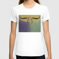 bull T-shirts featuring Bull by Michael Creese