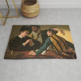 Merisi da Caravaggio - The Cardsharps Rug