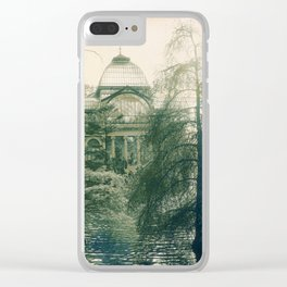 Passing Time in Victorian Afternoon Clear iPhone Case