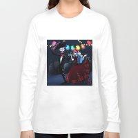 dia de los muertos Long Sleeve T-shirts featuring Dia de los muertos by Lenore2411