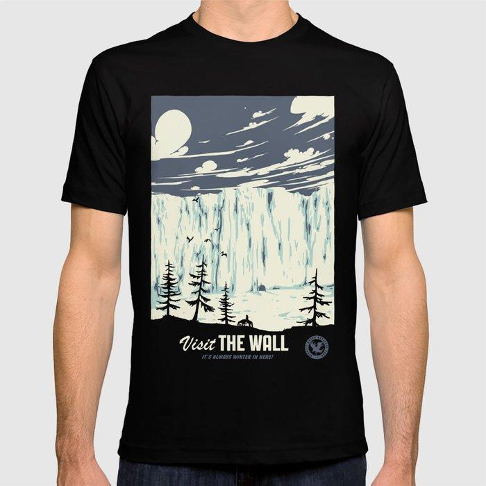 Visit the wall T-shirt