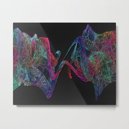 Spectrum Separation Metal Print