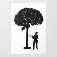 Braincutter Art Print