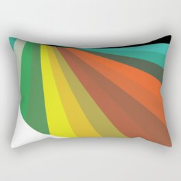Color Arc Rectangular Pillow