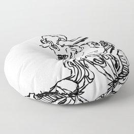 Human Sentry Gun Floor Pillow