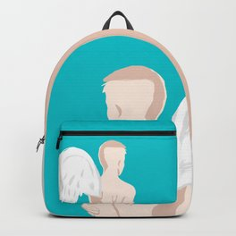One Winged Angel/ Abstract Concept Drawing Backpack