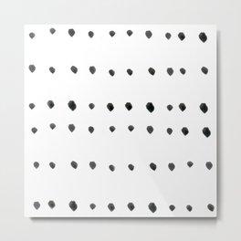 Modern boho dot Metal Print