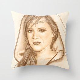 Elf Lady Throw Pillow