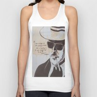 hunter s thompson Tank Tops featuring Hunter S. Thompson by Emily Storvold