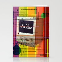 mac Stationery Cards featuring Hello Mac by Roberlan Borges