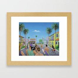 It's Always Sunny in Isla Vista  Framed Art Print