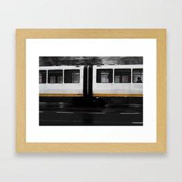 3 o'clock Framed Art Print