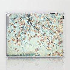 vintage DC Blosoms Laptop & iPad Skin