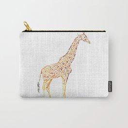 My Spirit Animal is a Giraffe Carry-All Pouch