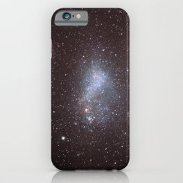 Hubble Space Telescope - Globular cluster 47 Tucanae and the Small Magellanic Cloud (2006) iPhone Case