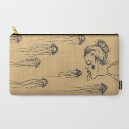 Catching jelly fish Carry-All Pouch