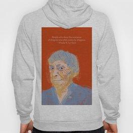 Ursula K. Le Guin portrait + quote Hoody