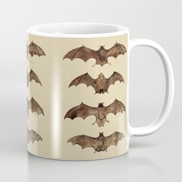 Bats zoology illustration Coffee Mug