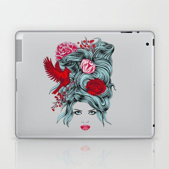 Winter Girl Laptop & iPad Skin