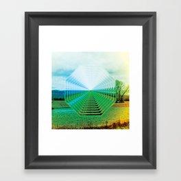 EU Road Trip Framed Art Print