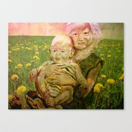 SUMMER SISTERS Canvas Print
