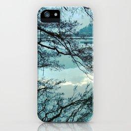 Italian landscapes - Levico lake iPhone Case