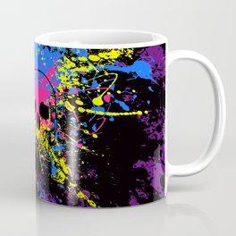 Skull splatter Coffee Mug