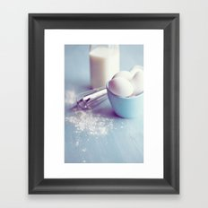 In the Kitchen-1 Framed Art Print