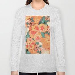 Aloha Orange Sherbet Long Sleeve T-shirt