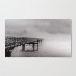 Ghostly bridge Canvas Print
